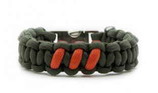 olive-drab-orange-paracord-550-bracciale-intarsi