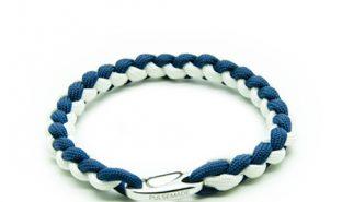 bracelet-paracord-pulsemade-weave-blu-bianco-notte