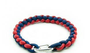 bracelet-paracord-pulsemade-weave-blu-notte-rosso-imperiale
