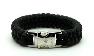 black-paracord-bracciale-style