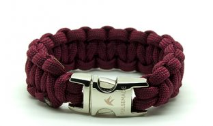 burgundy-paracord-bracciale-classic