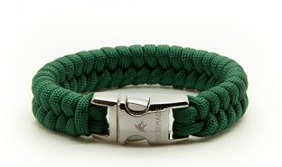 emerald-green-paracord-bracciale-style