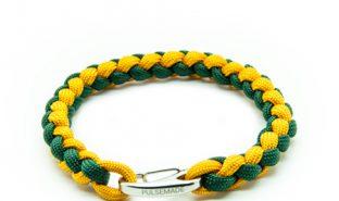 bracelet-paracord-pulsemade-weave-senape-verde-smeraldo