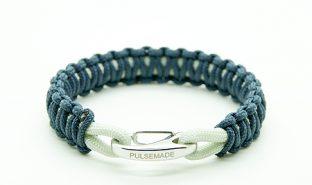 blu-navy-silver-gray-bracelet-pulsemade