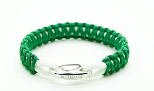 kelly-green-white-bracelet-pulsemade